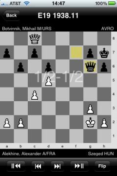 Chess Database for iPhone Showcases 500,000 Games [UPDATED