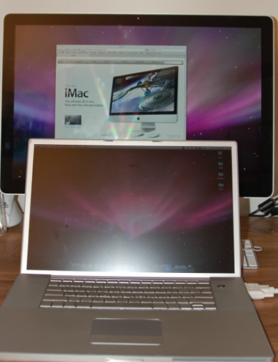 PowerBook and Cinema Display