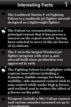 Fighter Pedia Facts