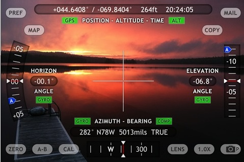 Theodolite App For IOS Is Breathtaking The Mac Observer - Elevation finder app