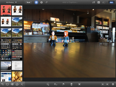 iPhoto for the iPad and iPhone