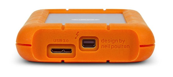 LaCie Rugged USB3 Thunderbolt Drive Review