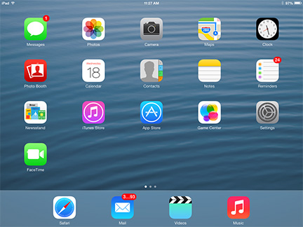 iOS 7 on the iPad: The changes are more than icon deep