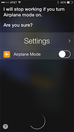 Siri can control system settings in iOS 7