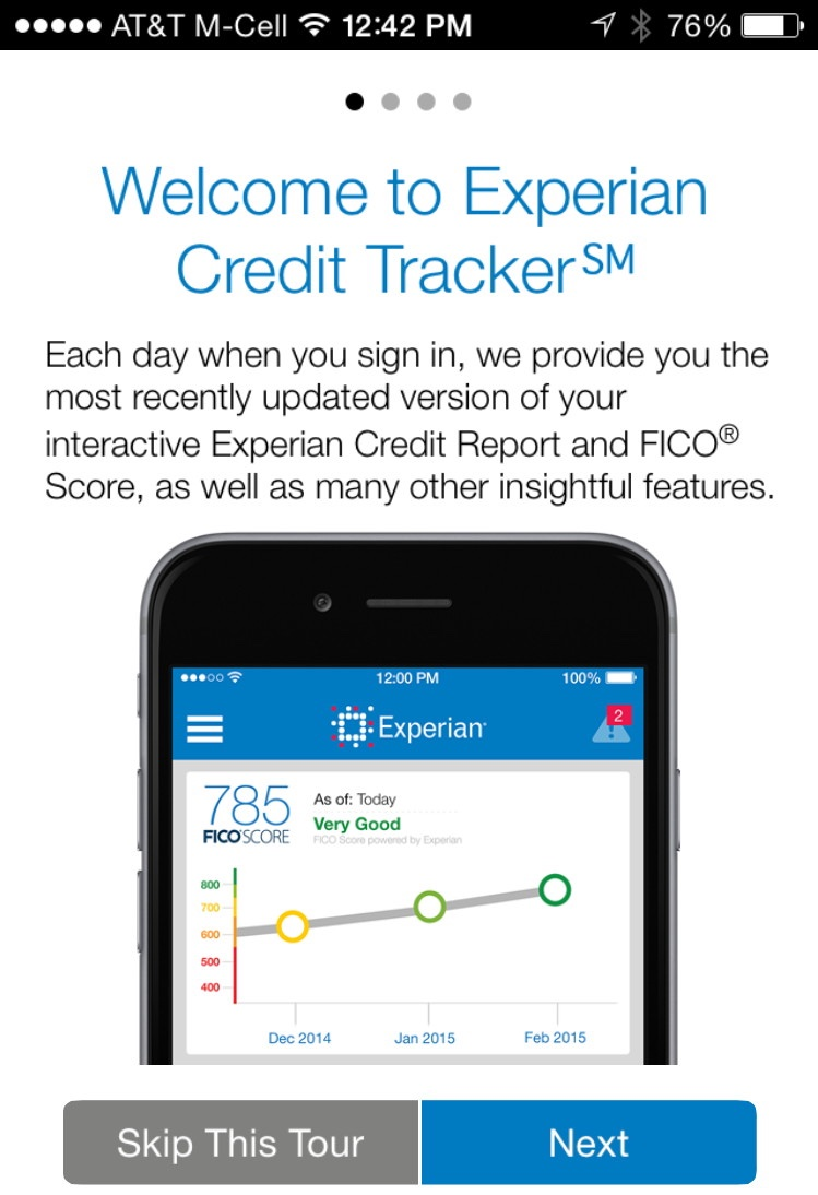 experian credit tracker for ios handsome intuitive secure the