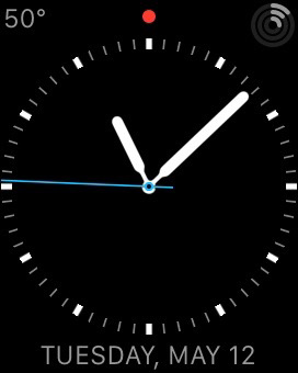 My custom Apple Watch face may be spartan, but it has almost everything I want to see