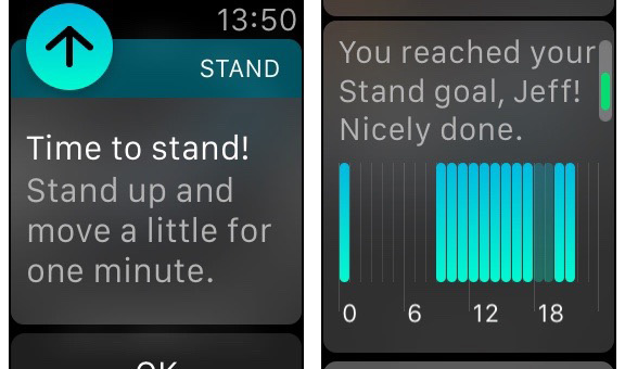 Apple Watch is great at reminding you to stay active