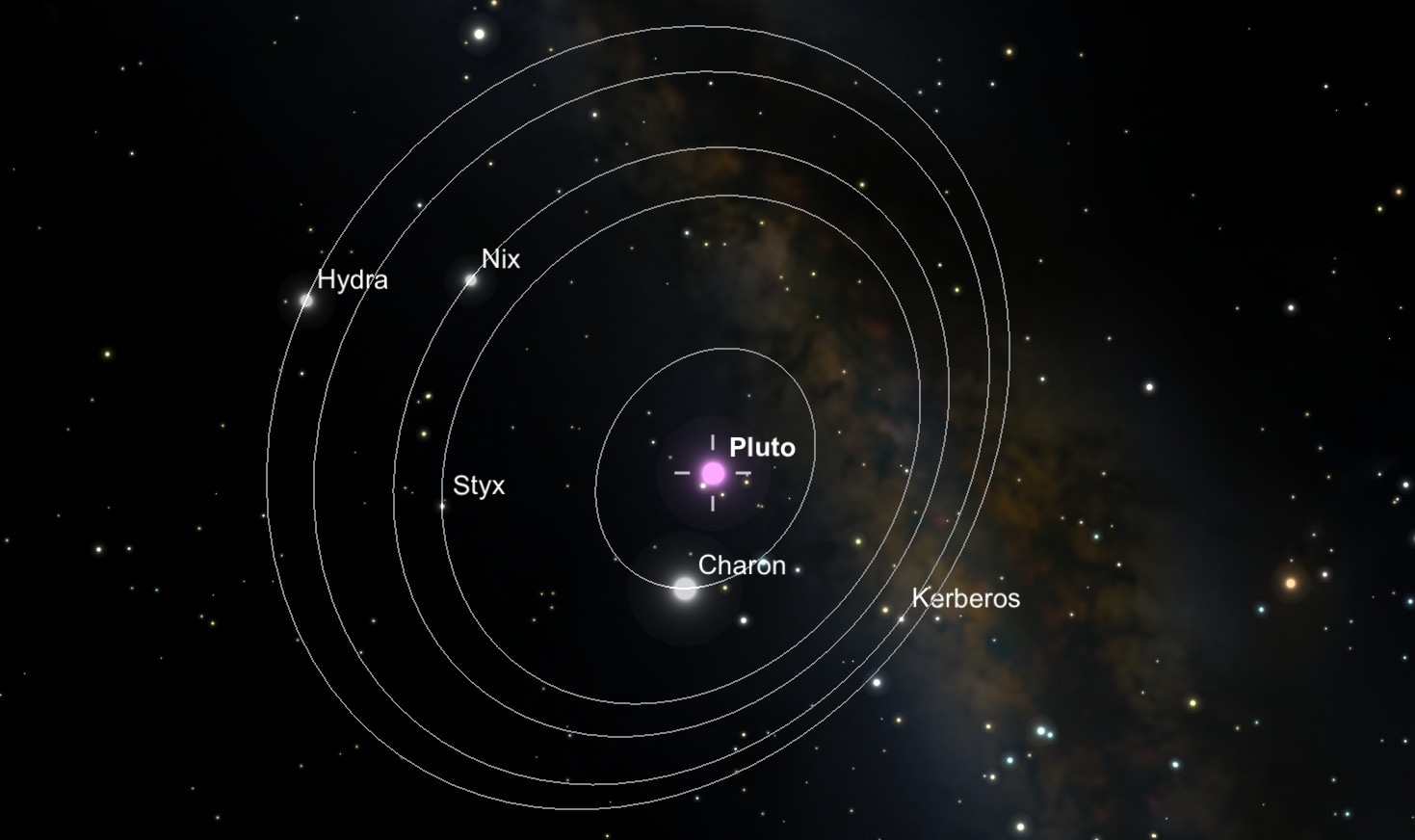 Kerberos Moon Of Plluto: Pluto Safari IOS App Lets You Experience The July Flyby