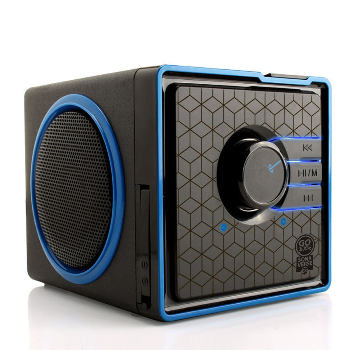 GoGroove SonaVERSE BX Portable Stereo Speaker System w/ Rechargeable Battery