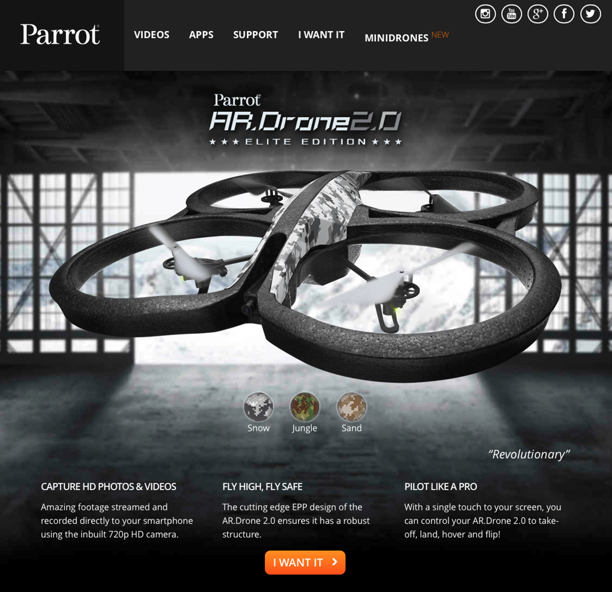 parrot ar drone 2 0 is close but no cigar the mac observer. Black Bedroom Furniture Sets. Home Design Ideas