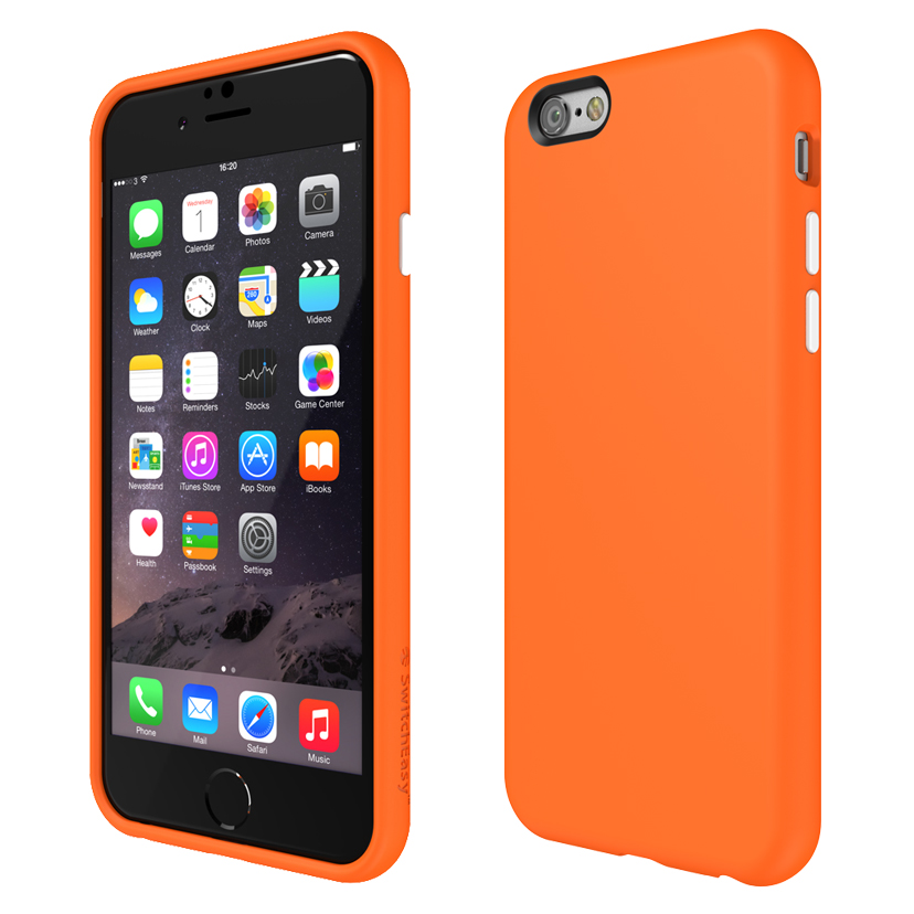 Lisa's pick: SwitchEasy's Numbers case in Sunlit Tangerine.