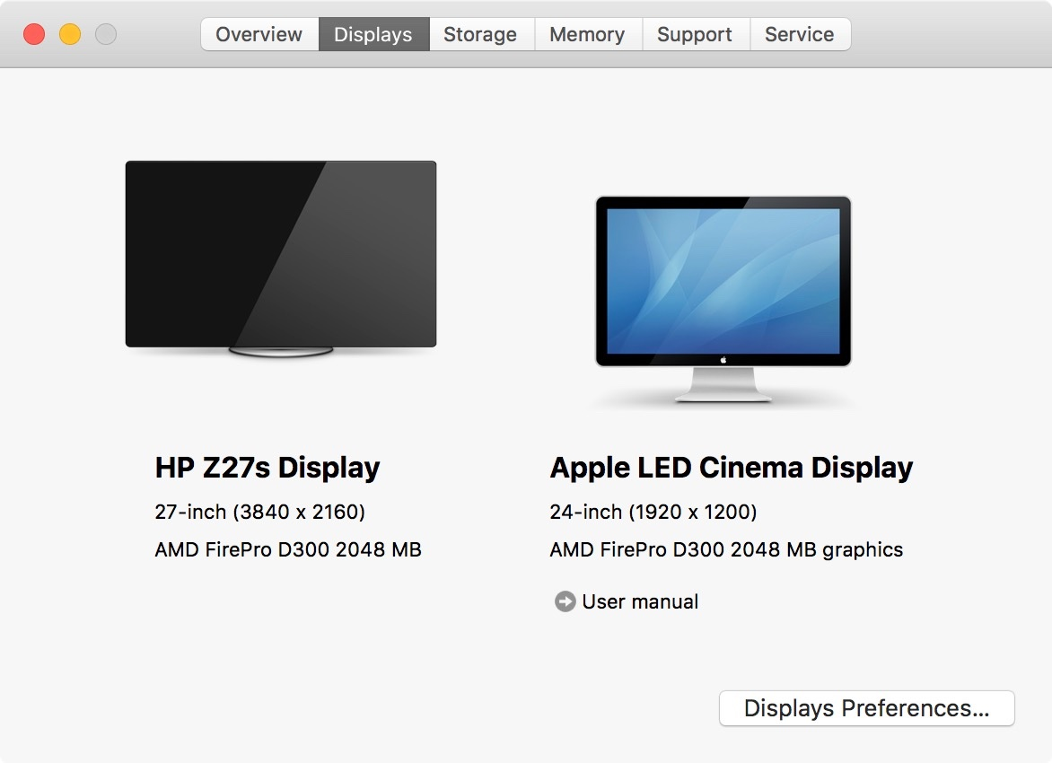 Hewlett-Packard's Z27s is a 27-inch 4K Display for Your Mac