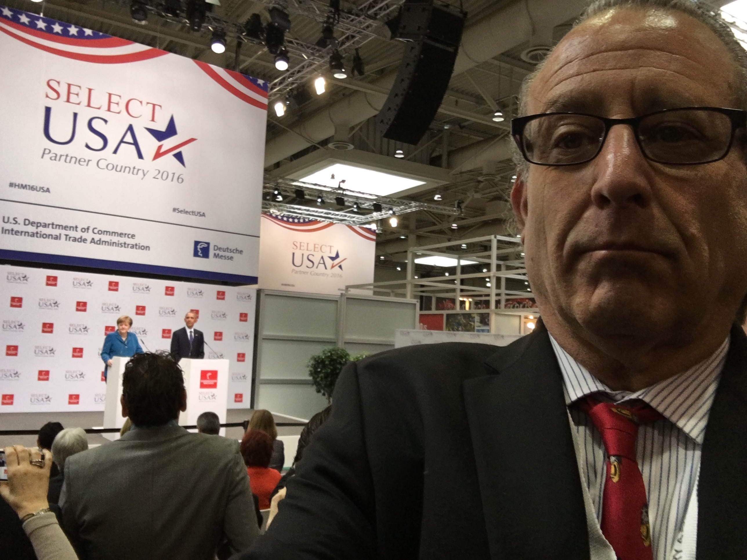 Bob LeVitus at Hannover Messe