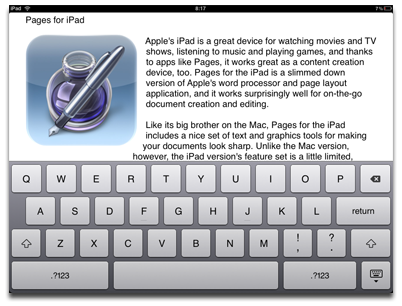 Pages for iPad – The Mac Observer