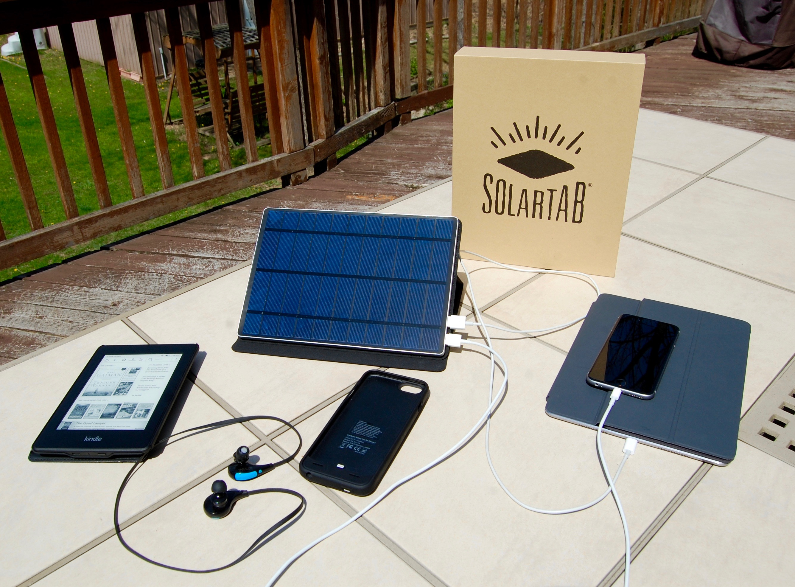 SolarTab Portable Solar Panel is a Bright Spot in Outdoor Charging Solutions