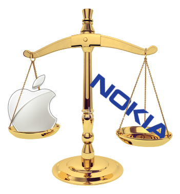 Apple v Nokia: In the can