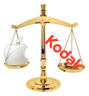 Kodak vs. Apple