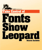 Take Control of Fonts in Snow Leopard