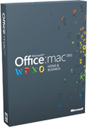 Microsoft Office for Mac 2011 box