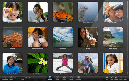 iPhoto 9 Screenshot