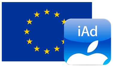 It's iAd. In Europe!