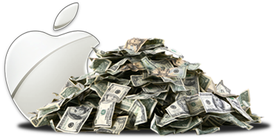 Apple: WE HAZ MONEY!