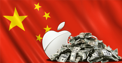 Apple's Huge in China