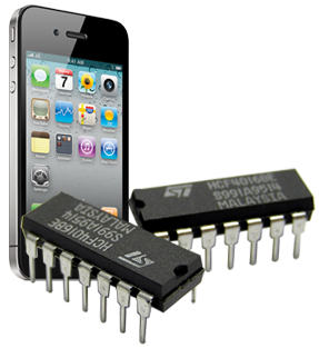 iPhone and computer chips. Mmm...