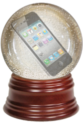 Apple crystal ball