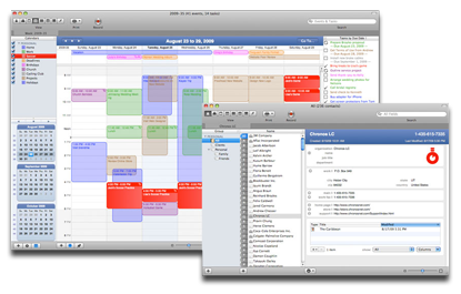 SOHO organizer apps for the Mac