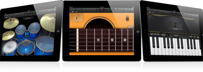 GarageBand for the iPad