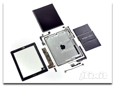iPad 2, from the inside