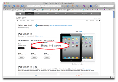 iPad 2: It's a long wait
