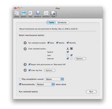 Cocktail for Mac OS X