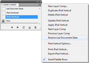 Layer Comps for inDesign