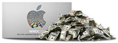 WWDC Tickets are big business on eBay