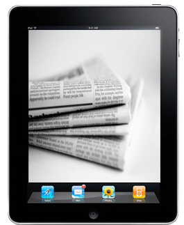 Newspapers on the iPad