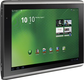 Acer gets in the tablet game