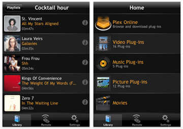 Plex for the iPhone