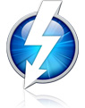 Thunderbolt badge