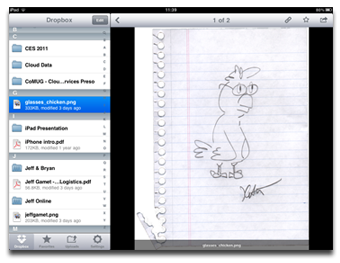 Dropbox for iPad and iPhone