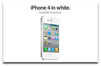 White iPhone 4. This time it's really happening.