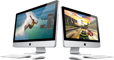 Apple's Thunderbolt-enabled iMac