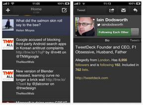 TweetDeck for iPhone