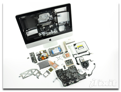 iMac teardown