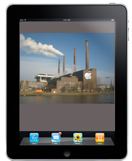 iPad, with a factory!