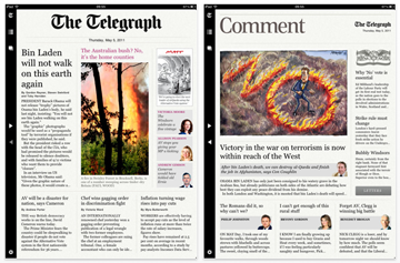 The Telegraph for iPad