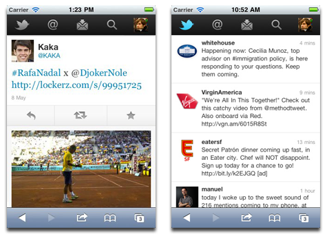 Twitter for mobile browsers