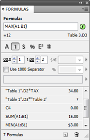 Active Tables for InDesign