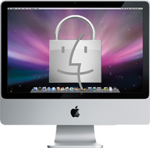 iMac, with security!